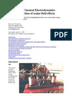 GeneralizedClassicalElectrodynamics