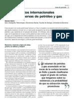 Bases datos internacionales petróleo y gas