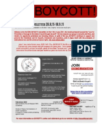 BOYCOTT! Newsletter #65