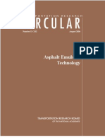 Asphalt Emulsion Technology