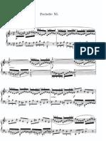 Bach - Le Clavecin Bien Tempéré - Livre 1 - Prélude Et Fugue 11