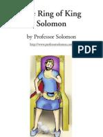 Ring of King Solomon