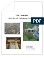 Field Visit Report