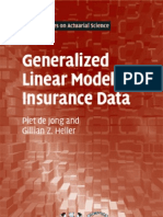 0521879140 Generalized Linear Models for Insurance Data