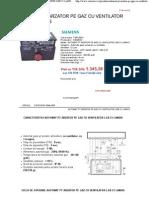 Automat Pt Arzator Pe Gaz Cu Ventilator Lgb 21 Landis - Calor