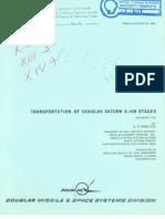 Transportation of Douglas Saturn S-IVB Stages