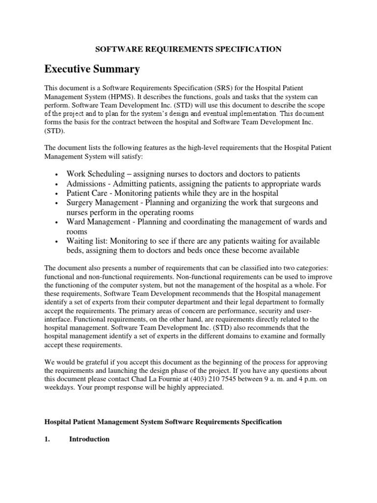 Hospital Management Sysytem Patient Hospital