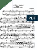 Variations on La Ci Darem La Mano Op