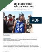 UCLA Math Major Joins Libya Rebels On