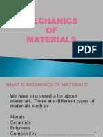 Mechanics of Maters(1)