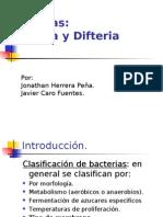 Exposición_Cólera y Difteria_Introducción a Bioquímica II