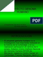 Exposición_Proyecto Genoma Humano_Introducción a Bioquímica II