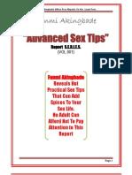 Advanced Sex Tips