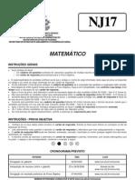 s Estado Mt Matematico Prova