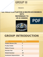FINAL PPT _ Oil Price Fluctuation & Its Effects on Macro-economics