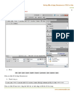Hướng dẫn sử dụng Adobe Dreamweaver CS5.5 cơ bản