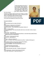 Palavras Compartilhadas de Rosana Ricalde - texto de apresentação da exposição para professores da rede estadual de educação do ES produzido por Célia Ribeiro - artedu-celialice.blogspot.com