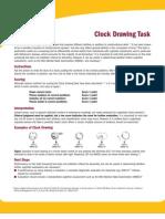 Clock Drawing Task Instructions