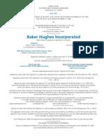 Baker Hughes 2008 Form 10k