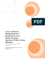 Cross Cultural Marketing