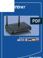 Trendnet Router Manual