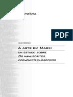 6618177 Arte Em Marx Estudo Dos Manuscritos