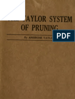 Taylor System of Pruning