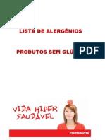 Lista Produtos Sem Gluten Jan2011