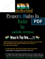 Intellectual Properties  satish