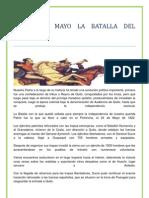 El 24 de Mayo La Batalla Del Pichincha