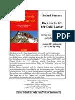 Barraux Die Geschichte Der Dalai Lamas