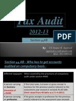 Ppt on Tax Audit