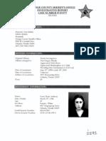 Casey Anthony - OCSO Investigative Report