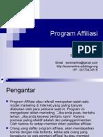 Materi 12 - Program Affiliasi