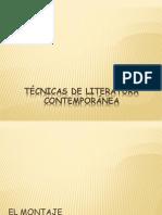 Técnicas de Literatura Contemporánea