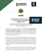 Seminario de Formación en Estrategías Docentes. PROHUM. UNSa-SPU. 2011.