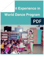 Student Experience in World Dance Program