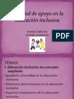 Material de apoyo en la educación inclusiva. completo...