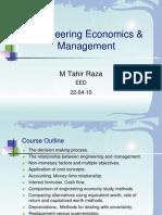 Engineering Economics 220410
