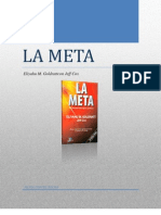 Analisiss Libro La Meta