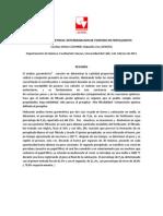Informe ANALISIS GRAVIMETRICO