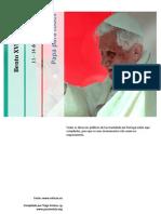 Compilação dos discursos do Pápa