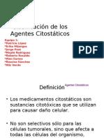 1.-Clasificación de los Agentes Citostáticos