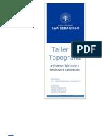 Taller Topo - Informe Técnico I