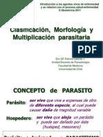 Clase 16-03 Morfología y replicación parasitaria