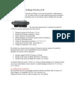 Distancia Del Sensor de Sharp 2YOA21 y LCD