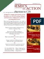 Centre for International Studies Fall 2011 Newsletter