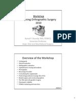 Planning Orthognathic Surgery 20103501