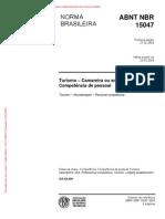 NBR - 15047 - Camareira[1]