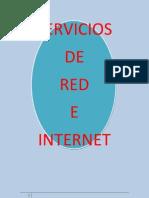 Servicios de Red e Internet Trabajo